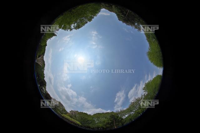 雲量4 雲の様子 / ≪写真素材・ストックフォト≫ NNP PHOTO LIBRARY